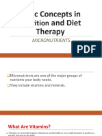 Nutrition and Therapy Micronutrient