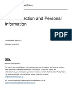Data Protection and Personal Information