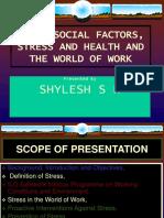 3) Psychosocial-stress (Training)