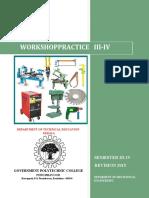 General Workshop Practice 1 Notes