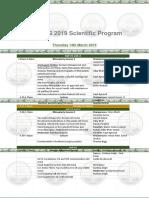 AeSurg 2019 Scientific Programme
