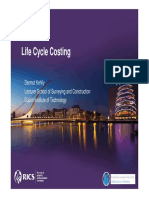 2013 - Life Cycle Costing