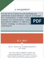 Anti Sexual Ahrrassmentr