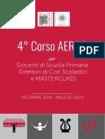 Corso AERCO per Direttori e Masterclass 2019 2020