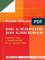 De l'espoir en l'avenir - Noam Chomsky
