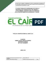 PROGRAMA DE TRABAJO Y OBRAS PARA EXPLOTACIÓN DE MATERIAL ALUVIAL