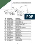 Parts List - Rail Bull v.2.00