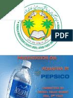 Aquafina PPT