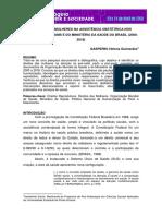 Direitos Das Mulheres Na Assistência Obstétrica Nos Documentos Da Oms e Do Ministério Da Saúde Do Brasil (2000- 2018)