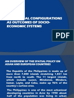 1. Physical Configurations as Outcomes of Socio Economic Systems Converted
