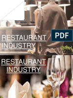 Restaurant Industry Final
