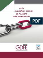 Guía para el diseño de alianzas publico privadas
