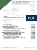 Poai_2019 Plan Operativo Anual de Inversion