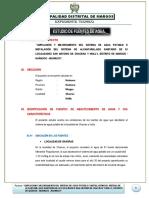 ESTUDIO DE FUENTES DE AGUA