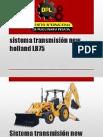 Sistema Transmisión New Holland LB75