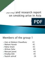 survey report on tabbaco