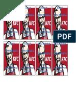Label Piala Kfc