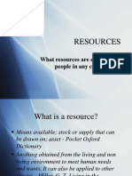 Classification of Resources