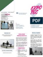 _triptico a4 Cnc Dr. Ing. Olortegi Expotec 2018