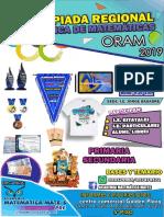 Bases Concurso I OLIMPIADA ACADÉMICA DE MATEMÁTICA
