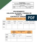 PT-01 Rev C Procedimiento Aislación Bloqueo y Permiso Trabajo Rev 08.08.2019 (003)