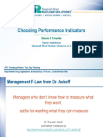 3 Choosing Performance Indicators Day One