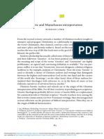 Gnostic and Manichaean interpretation - Winrich Löhr.pdf