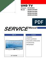 Сервис Мануал На Английском Samsung Ue40ku6100w Шасси Uku6300g