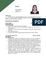 Resume KV