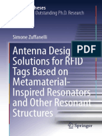 Antenna Design Solutions for RFID Tags Based on Metamaterial-Inspired Resonators and Other Resonant Structures-Springer (2018) THESIS