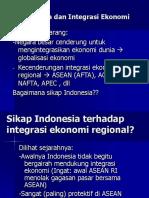 Perekonomian Indoesia Integritas ekonomi