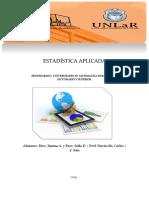 Estadística Aplicada - Dossier