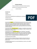 """Resumen Hernando """"FACTORES ESTRUCTURALES ASOCIADOS A LA IDENTIDAD"""""""