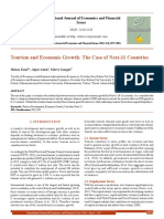 Tourism and Economic Growth_ the Case of Next 11 Countries[#352244]-363129