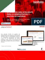Binfolio Detalle Funcional y Tecnico V2.0