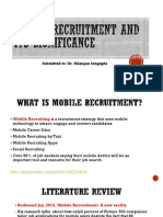 MOBILE RECRUITMENT AND ITS SIGNIFICANCE- GROUP 2.pptx