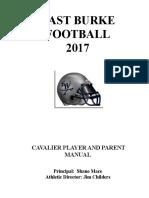 Cavalier Football Manual