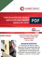 03 Conciliacion Marco Legal y Ejecucion 2018