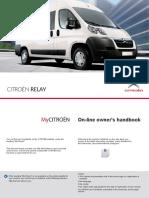 2012 Citroen Jumper Relay Owner Manual
