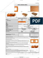 Catálogo Ladrillo FT LPRL6. LPRL6M