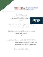 ITIL Report