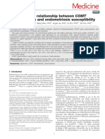 COMT Endometriosis Chineese