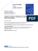 Creatio ex nihilo in Palestinian Judaism and Early Christianity - Markus Bockmuehl.pdf