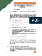 Procesos de Auditoria Adm Empresas 2019