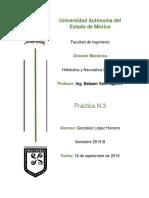 Práctica #3 Hidraulica y Neumática Industrial Homero González