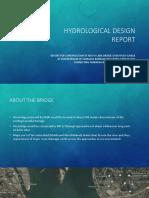 Hydrological Design Report of Farraka Barrage