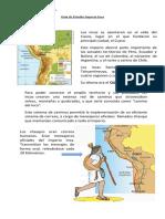 Guía de estudio Imperio Inca 4ºbásico