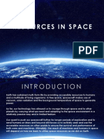 Resources in Space