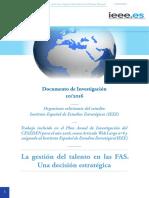 BIOSCA PONCE 20161116 La Gestión Del Talento en Las FAS