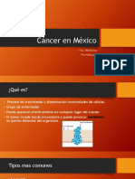 Cáncer en México